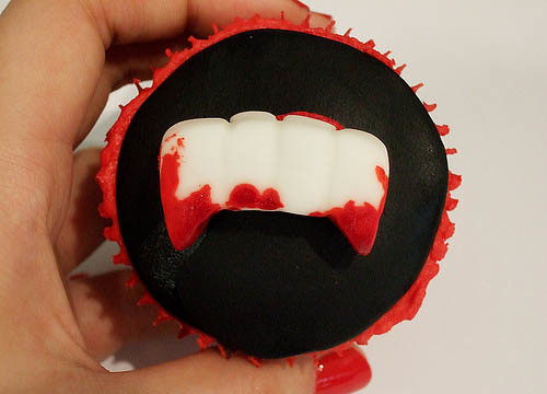 5871750939 45871a9f8e Vampire Cupcake Ideas, Perfect for Twilight and True Blood Fans – or Halloween!