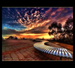 Wicked winter sunset (PhotoArt Images) Tags: sunset southaustralia hdr singlehdr photoartimages
