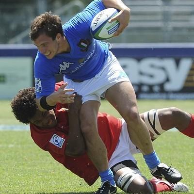 Alberghini contro Tonga