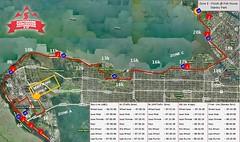 Scotiabank Half Marathon 2011 Route