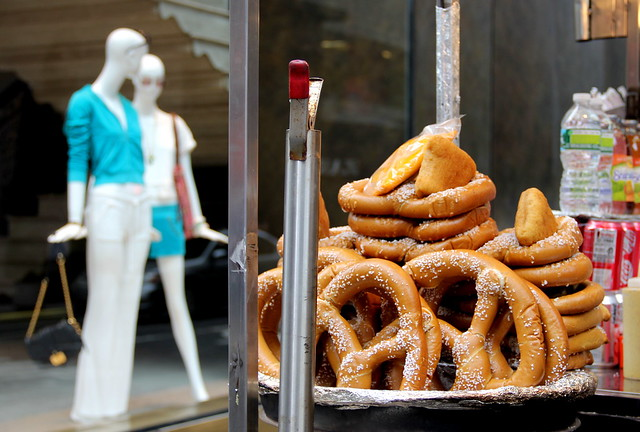 Fashion and food of NYC