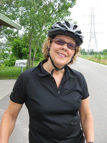 Bev Moir at Confederation Park