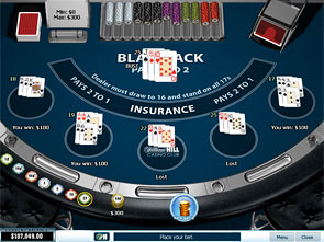 Blackjack Surrender Multiplayer Win