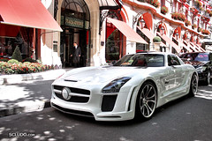 "Mercedes SLS ""Gullstream"" Fab Design (Ludovic (SCLUDO.com)) Tags: fab paris cars car sport mercedes benz design exotic mercedesbenz spotted supercar sls amg sportscars exotics supercars sighting fabdesign sportcars gullstream exoticscars scludo scludocom"