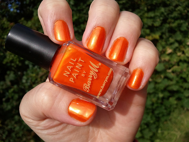 barry m tangerine