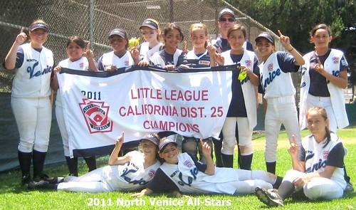 North Venice All-Star softball team