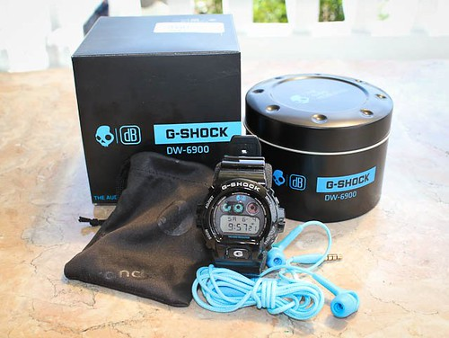 Skullcandy x Casio G-Shock DW-6900 Collaboration Limited Edition