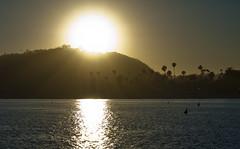 Sunset in Santa Barbara (meezoid) Tags: ocean california road trip sunset santabarbara highway1