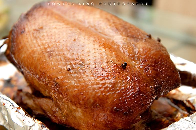 Honey Glazed Roast Duck