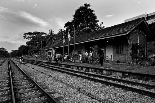 The quaint Bukit Timah KTM Railway Station