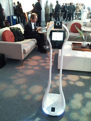 VGo Communications surrogate robot at #TEDMED