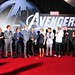 The Avengers world premiere in Hollywood