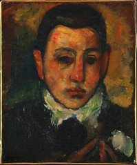 Gorky, Arshile (1904-1948) - 1928 Self-Portrait at the Age of Nine (Metropolitan Museum of Art, New York City) (RasMarley) Tags: 1920s portrait selfportrait american painter 20thcentury 1928 gorky metropolitanmuseumofart armenian arshilegorky artistportrait postimpressionism selfportraitattheageofnine