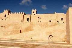 Monastir ribat ramp (melissaenderle) Tags: architecture ancient northafrica tunisia fortress monastir ribat
