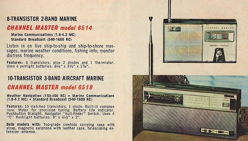 CHANNEL MASTER Radio, Television, Tape Recorder, Walkie Talkie and Interphone Brochure (USA 1961)_17
