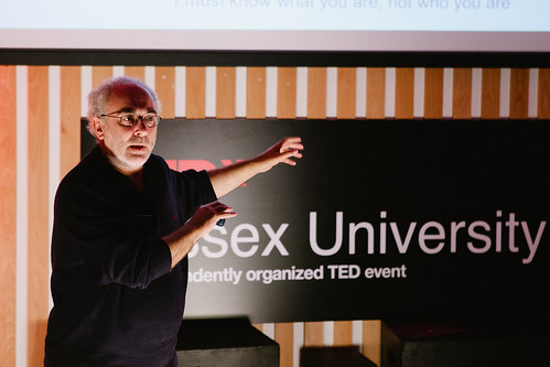 David Birch speaking at TEDxSussexUniversity 2012