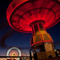 Nothing Even Matters Anymore She Said (Thomas Hawk) Tags: california usa unitedstates fav50 10 statefair unitedstatesofamerica fair fav20 ferriswheel sacramento fav30 sacramentocounty waveswinger californiastatefair fav10 chairoplanes fav25 swingcarousel fav40 fav60 superfave californiaexpositionstatefair