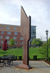 Nod (ArtFan70) Tags: sculpture usa art america ma university unitedstates massachusetts bsu nod campuscenter bridgewater raimondi johnraimondi bridgewaterstate bridgewaterstateuniversity rondileaucampuscenter