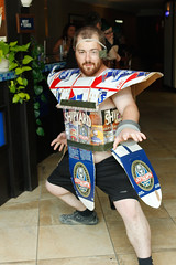 _MG_7424 (FirstPerson Shooter) Tags: beer cosplay saiyan portcon portconmaine portcon2012
