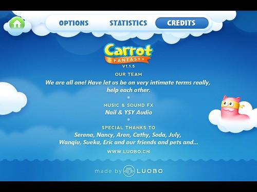 CarrotFantasy Info: screenshots, UI