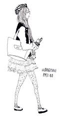 harajyuku PM3:40 (rokuhisa chino) Tags: girls fashion illustration japanese tokyo shibuya kawaii ikebukuro shinjyuku harajyuku streetfashion japanesefashion streetsnap tokyolovegirls tokyo愛girls rokuhisachino 千野六久