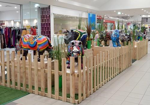 Rhino Display, Bankstown Central, Bankstown, Sydney, NSW.