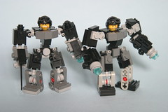 Mark 1 hardsuits (SpartanBricks) Tags: lego hard suit hardsuit