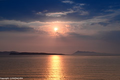 Corfu Sunset - Absolute Serenity (Holfo) Tags: ocean blue sunset sea sky cloud seascape water greek gold islands coast seaside nikon mediterranean view outdoor hellas greece serenity serene med corfu oceanview sanstephanos ionianislands sanstefanos aghiosstefanos d5100