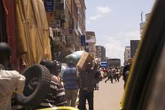 Street view in Kampala
