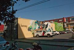 Hueman, Ian Ross, San Francisco (chloe & ivan) Tags: sanfrancisco ca streetart murals dayofthedonut ianrossgallery