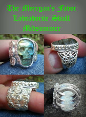 The Morrigan's Favor Midsummer 9 skull forged triple trinity with Labradorite Skull (leespicedragon) Tags: moon art face dayofthedead skull cool focus magick magic jewelry spell ring spooky handcrafted celtic spiritual occult wicca forged pagan alchemy newage fabricated gemstone dademuertos marvinleebillings