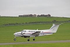 FlyWales Beech Kingair 200 G-FLYW (IOM Aviation Photography) Tags: 200 beech kingair flywales gflyw