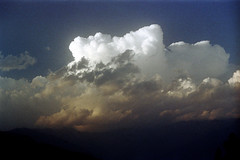 21-207 (ndpa / s. lundeen, archivist) Tags: nepal sky mountains color film clouds rural 35mm view 21 horizon nick vista nepalese 1970s 1972 himalayas nepali dewolf nickdewolf photographbynickdewolf reel21 hillyregion