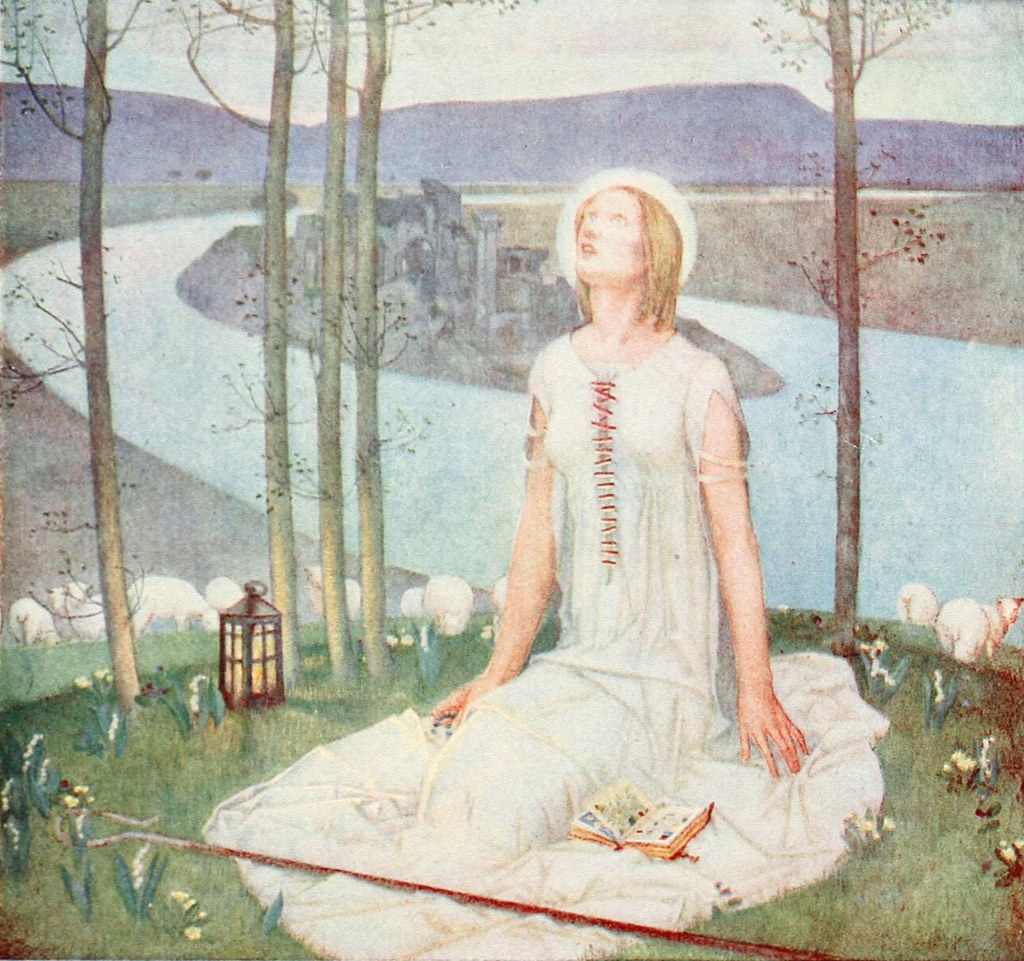 Edward Reginald Frampton (British, 1872 by sofi01, on Flickr
