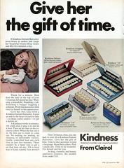 1969 Clairol Kindness Hairsetter Advertisement Newsweek December 8 1969 (SenseiAlan) Tags: 1969 december 8 advertisement kindness newsweek clairol hairsetter
