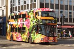 LT 424 (LTZ 1424) Go-Ahead London New Routemaster (hotspur_star) Tags: londontransport londonbuses londonbus londonbuses2016 wrightbus borisbus borismaster newbusforlondon newroutemaster nb4l tfl transportforlondon hybridbus hybridtechnology busscene2016 doubledeck goaheadlondon lt424 ltz1424 alloveradvert advertlivery advertisinglivery advertbus deliveroo 12