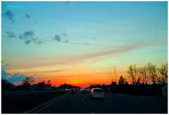 IMG_7253_Sunset_Highway_VA2016 (Stephenie DeKouadio) Tags: canon photography outdoor sunset painting virginia highway art artistic color colour colorful dusk sky