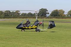 G-DADA (QSY on-route) Tags: gdada rotorsport uk gyro autogyro gyrocopter fly in 2016 wolverhampton halfpenny green egbo 02102016