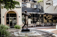 The Most Important Shot In Golf Is The Next One! (BGDL) Tags: lightroomcc nikond7000 bgdl urban afsnikkor18105mm13556g florida statue golfer downtown sarasota themostimportantshotingolfisthenextone wordsofwisdom saturdaytheme flickrlounge