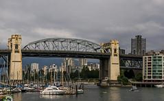 Burrard Street Bridge (DCZwick) Tags: burrardstreet bridge falsecreek vancouver bc britishcolumbia pentaxk3 sailboat canada