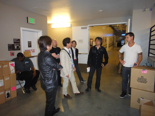 Backstage with Sonic Team