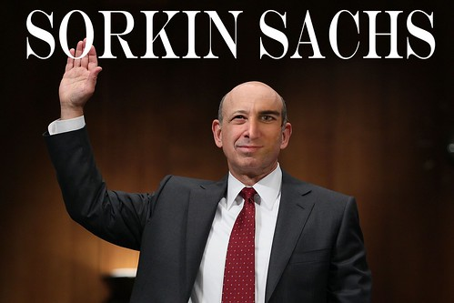 SORKIN SACHS by Colonel Flick