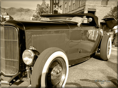 Oldie Convertible by Just Used Pixels