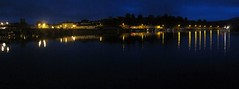 Killaloe by night (Duq) Tags: ireland panorama ice night river dark clare shannon killaloe
