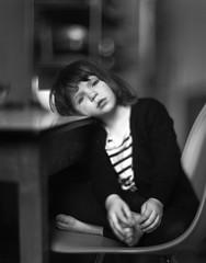 milla (apasz) Tags: girls portrait people bw berlin mill film kitchen girl blackwhite kodak trix hc110 25 4x5 lf largeformat graflex 320 speedgraphic selfdeveloped 320txp 7in txp320