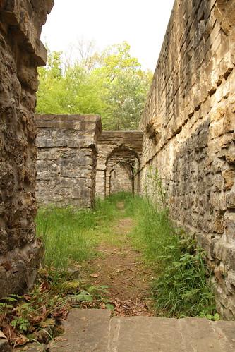 Bulwark around the Fort Thüngen Dräi Eechelen