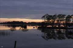 Sunset at Vadstena / Sweden (zilverbat.) Tags: travel sunset nature landscape europe sweden outdoor urbannature bluehour vadstena zweden slowshutterspeed citytrip zilverbat elvinhagekpnplanetnl