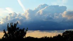 Stormy sky (tad2106 - Trudie Davidson Photography) Tags: sky clouds weather nature landscape sunset dusk