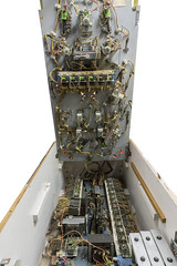 """My 1973 Pinball Machine """"Space Time"""" (dawsonimages) Tags: spacetime pinball pinballmachine 1973 1970s american internals relays coils wiring complicated electromechanical"""