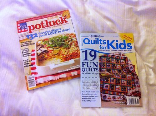2 magazines